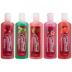 Goodhead One Shot Personal Lubricants, Flavored Lube
