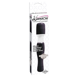 Mini Mini Wanachi Black Wand Massager, Vibrating Sex Toys