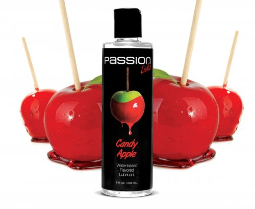 Passion Licks Candy Apple Water Based Flavored Lubricant - 8 oz Personal Lubricants, Water Based Lube, Flavored Lube