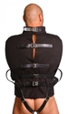 Strict Leather Black Canvas Straitjacket- X-Large - ST900-XL