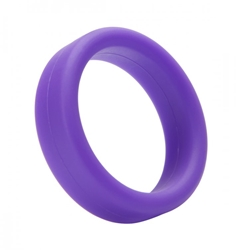 Tantus Super Soft C-Ring- Purple Cock Rings, Silicone Toys