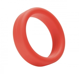 Tantus Super Soft C-Ring- Red Cock Rings, Silicone Toys