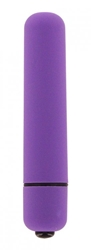VelvaFeel 3.5 Inch Bullet Vibe - Purple Vibrating Sex Toys, Bullets and Eggs