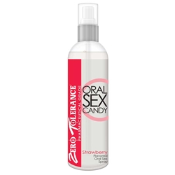 ZT Oral Sex Candy, Strawberry, 2oz Oral Spray