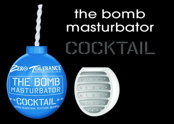 Zero Tolerance The Bomb Masturbator Cocktail Bomb Masturbator, Masturbation