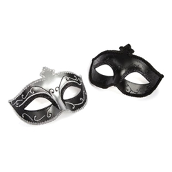 Fifty Shades of Grey On Masquerade Mask Twin Pack Mask, Masquerade Mask