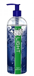 Wet Light Liquid Lubricant 17.7 oz Personal Lubricants, Water Based Lube