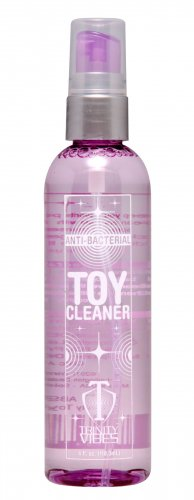 Trinity Anti-Bacterial Toy Cleaner - 4 oz Toy Cleaner, Wand Massager Accessories, Home Party Packages