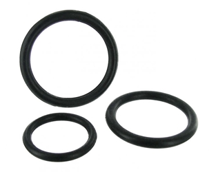 Black Triple Silicone Cock Ring Set Cock Rings, Silicone Toys