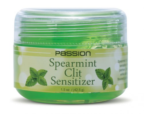 Passion Spearmint Clit Sensitizer - 1.5 oz Herbals, Personal Lubricants, Flavored Lube, Creams and Lotions, Female Enhancement Supplements, Home Party Packages