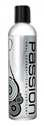 Passion Anal Desensitizing Lubricant with Lidocaine - 8.5 oz Personal Lubricants, Anal Lube, Numbing Supplements and Sprays