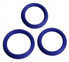3 Piece Silicone Erection Rings Cock Rings