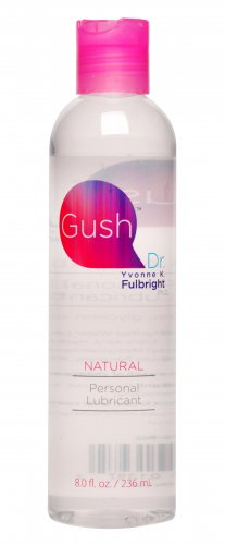 Gush by Dr Yvonne Fulbright Personal Lubricant- 8 oz Personal Lubricants, Water Based Lube, Gush