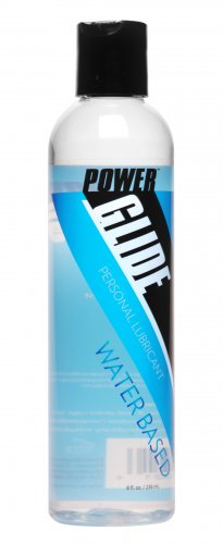 Power Glide Water Based Personal Lubricant- 8 oz Personal Lubricants, Water Based Lube