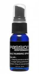 Passion Performance Stamina Spray with Maximum Lidocaine Herbals, Erectile Enhancement Supplements, Numbing Supplements and Sprays, Stamina Spray
