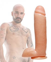 Raging Cockstars Iron Isaac 8.75 Inch Realistic Dildo Dildos, Huge Dildos, Realistic Dildos, Suction Cup Dildos