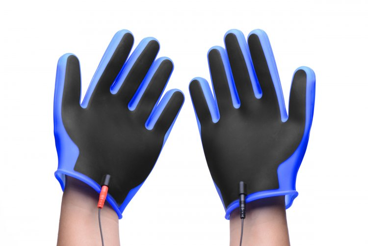 Conductor Electro Conductive Estim Gloves Electrosex Gear, Electrosex Accessories, Silicone Toys