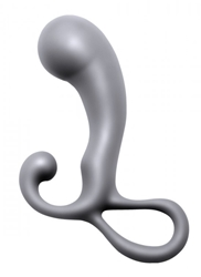 Crusade Silicone Prostate Plug with Angled Head Anal Toys, Prostate Stimulators, Silicone Anal Toys, Silicone Toys