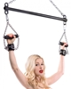 Comfort Grip Leather Suspension Cuff System Bondage Gear, Ankle and Wrist Restraints