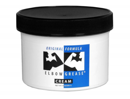 Elbow Grease Original Cream- 9 oz Personal Lubricants, Oil Based Lubes, Creams and Lotions