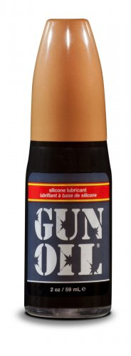 Gun Oil Silicone Lube - 2oz Personal Lubricants, Silicone Based Lube