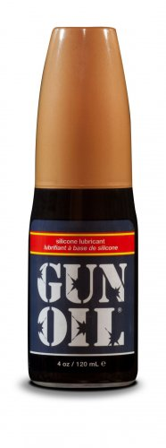 Gun Oil Silicone Lube - 4oz Personal Lubricants, Silicone Based Lube