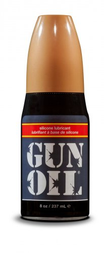 Gun Oil Silicone Lube - 8oz Personal Lubricants, Silicone Based Lube