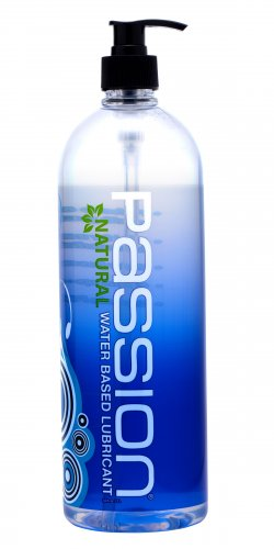 Passion Natural Water-Based Lubricant - 34 oz Personal Lubricants, Water Based Lube, Sex Toy Parties, Home Party Packages