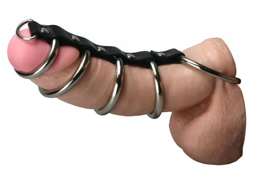 Strict Leather 5 Gates of Hell Chastity, Cock and Ball Torment, Chastity for Him, Metal Chastity Devices