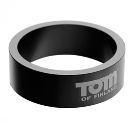 Tom of Finland 60mm Aluminum Cock Ring Cock Rings, Metal Cock Rings