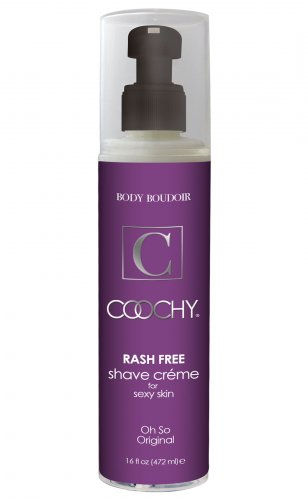 Coochy Rash-Free Shave Creme Original 16 fl oz Personal Lubricants, Creams and Lotions, Sex Toy Parties