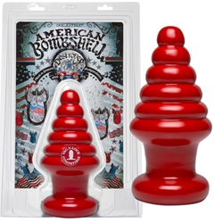 American Bombshell - Destroyer Cherry Bomb Anal Toys, Huge Insertables, Huge Anal Toys, Butt Plugs