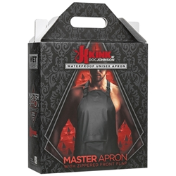 Kink Wet Works Master Apron Black Bondage Gear, Clothing, Mens Clothing